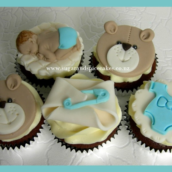 Sweet Art Cake Design Nz : Baby Shower Cupcakes Toppers Nz Moms and Babies