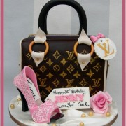 LV CAKE WITH SHOE