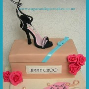 Stiletto Jimmy Choo Cake