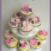 Wedding Flowers Cupcake tower