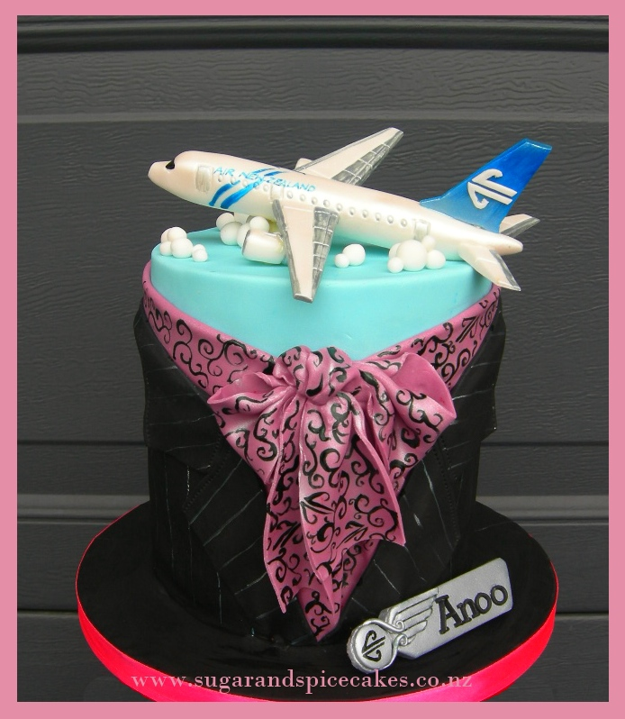 Air New Zealand Uniform Cake 250