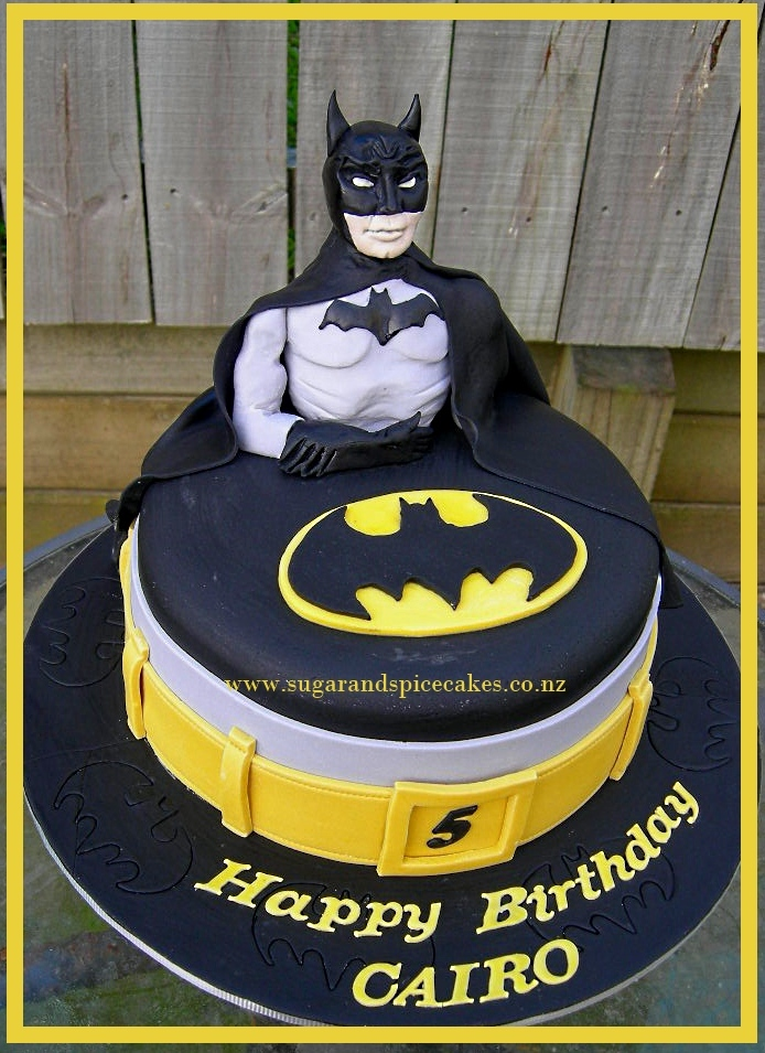 Super Hero Cakes Sugar And Spice Celebration Cakes Auckland