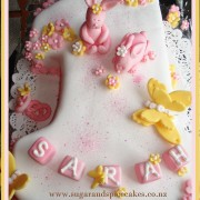 number 1 cake bunny