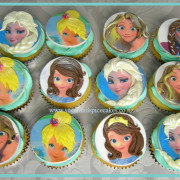 Princess Faces Cupcakes