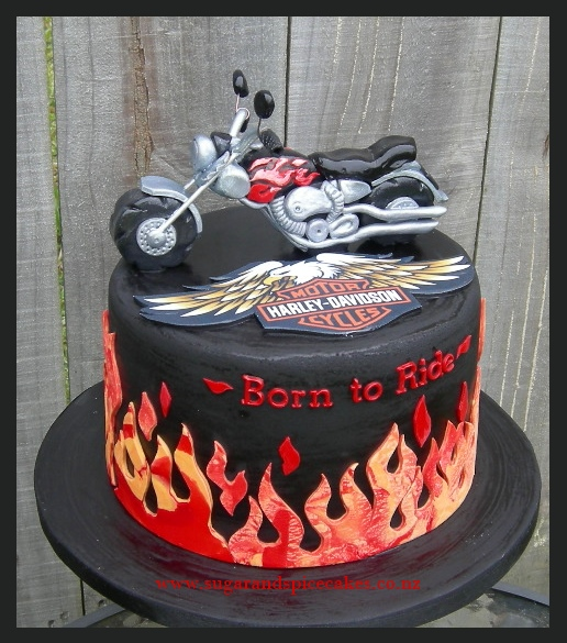 Tutorial Motorcycle Cake Topper Sugar and Spice Celebration