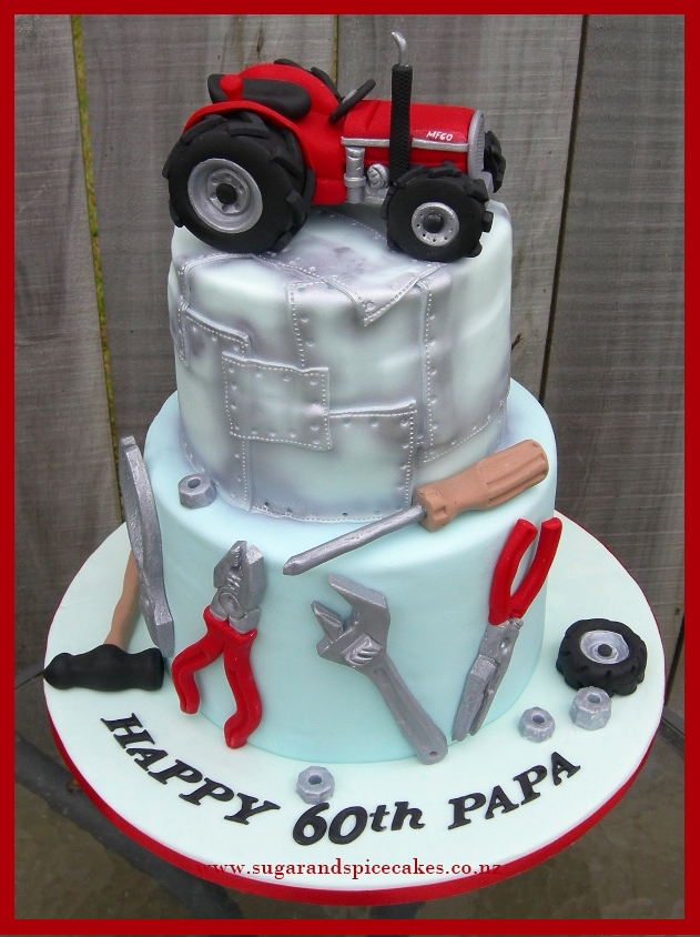 Cake Decorating Co Nz : Tutorial   Fondant Tractor   Sugar and Spice Celebration ...