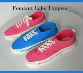 vans shoes cake toppers