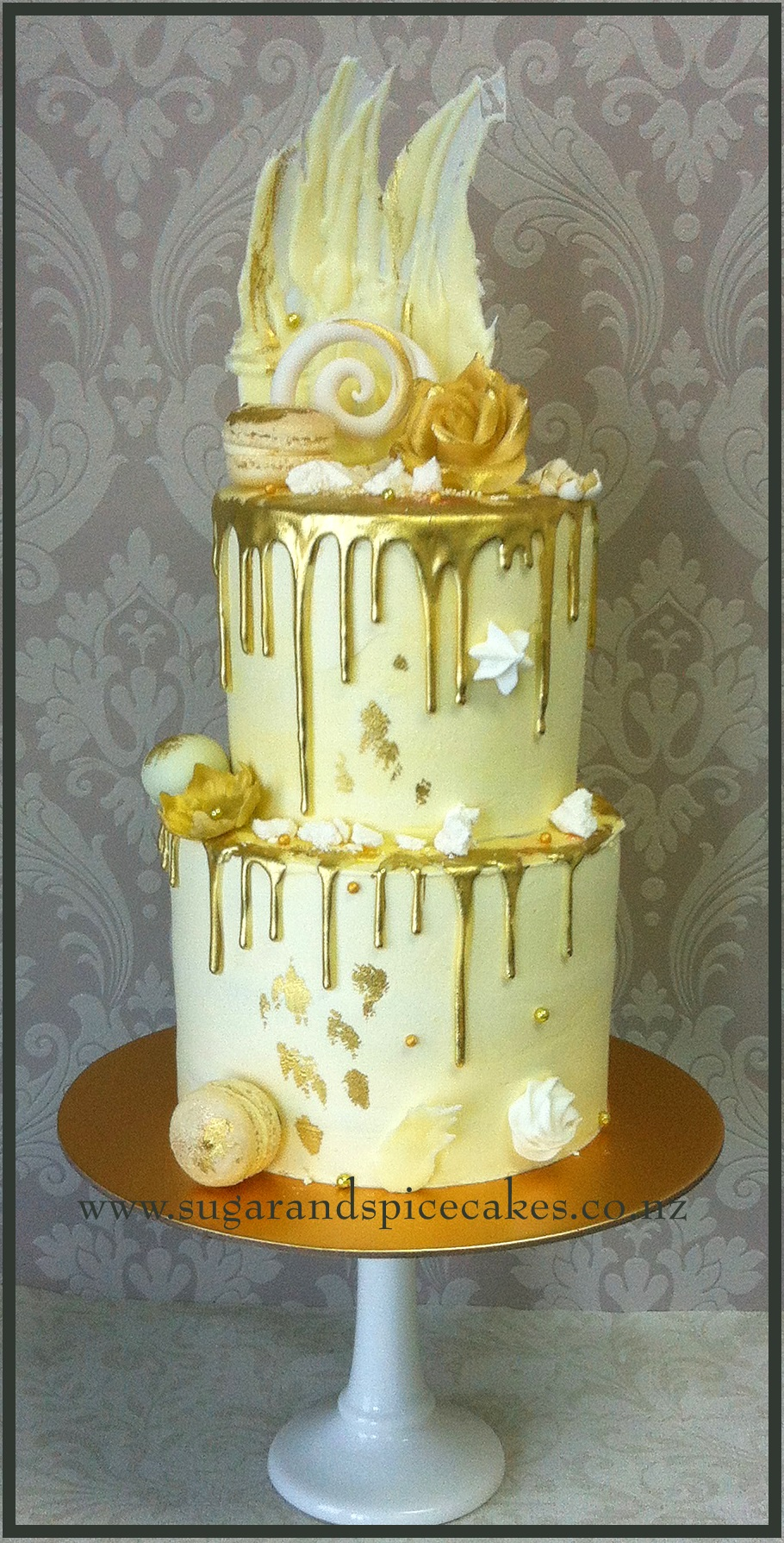 Cake And Sugar Art Nz : Drip Cakes   Sugar and Spice Celebration Cakes Auckland