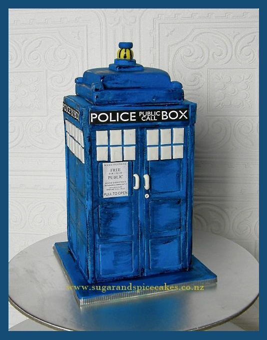 How To Make Tardis Cake Pops