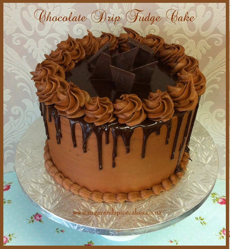 Cake Decorating Co Nz : Drip Cakes   Sugar and Spice Celebration Cakes Auckland